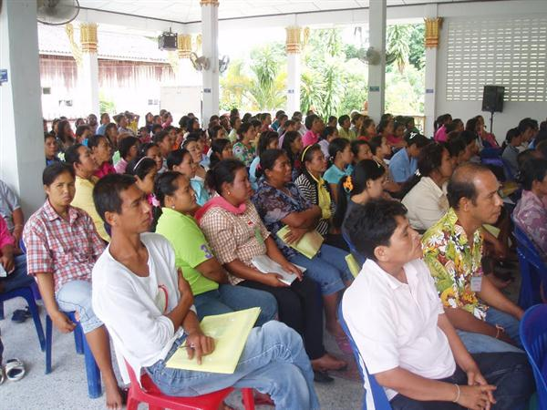 ศูนย์ส่งเสริมการเกษตรจัดอบรมอาชีพให้กับชุมชนแม่เหียะ