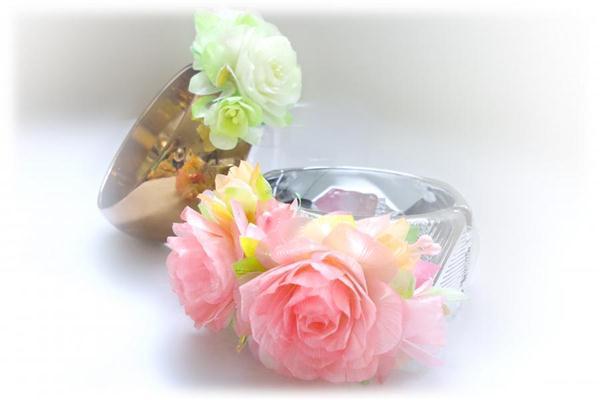 อาชีพน่าสนใจ ประดิษฐ์ดอกไม้จากเกล็ดปลา